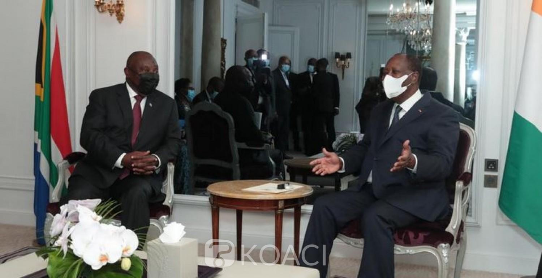 Côte d'Ivoire : Perspectives de coopération avec la Tunisie dans la santé, Ramaphosa invité avant la fin de l'année et diner avec Macron
