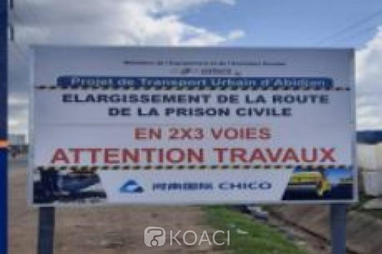 Côte d'Ivoire : Yopougon, début des travaux d'élargissement de la voie Zone Industrielle-Maca