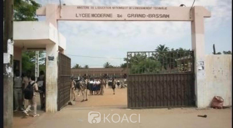 Côte d'Ivoire : Lycées 1 et 2 de Grand-Bassam, élèves et enseignants pas en sécurité