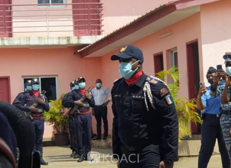 Côte d'Ivoire : Nouvelle compagnie du GSPM à Bingerville, le Capitaine Tapily Oumar prend le commandement