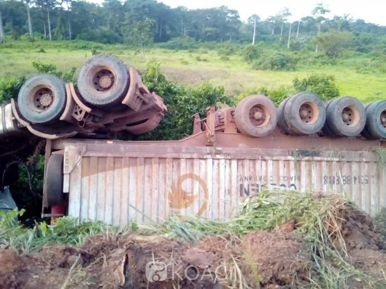 Côte d'Ivoire :   Axe Tankessé-Bondoukou, collusion évitée entre un car de transport et un gros camion à l'entrée de la ville de Kounfao