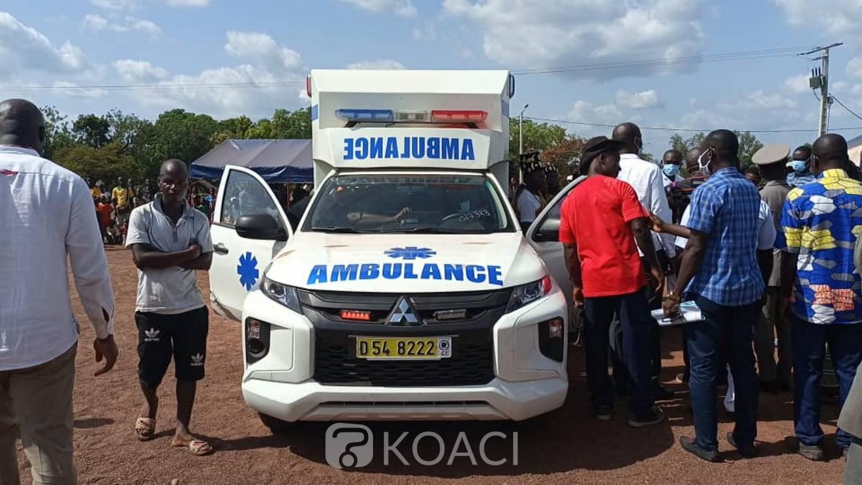 Côte d'Ivoire : Béoumi, longtemps resté dans l'ombre des gros villages, Bourébo enfin doté d'une ambulance médicalisée