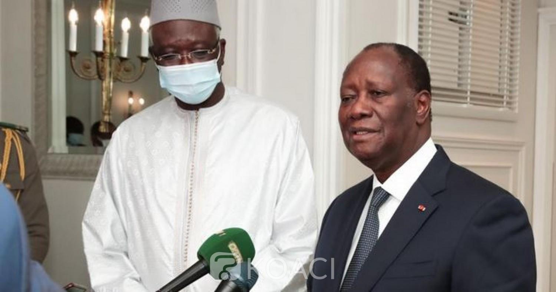 Côte d'Ivoire : A Paris, le Président de la Transition au Mali reçoit les conseils avisés de Ouattara, rencontre avec l'UA