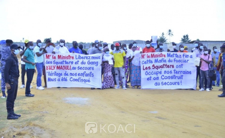 Côte d'Ivoire : Conflit foncier à Djigbo Kamon (Port Bouët), Bruno Koné sur le terrain pour rassurer les détenteurs d'actes quant à leur droit sur les parcelles