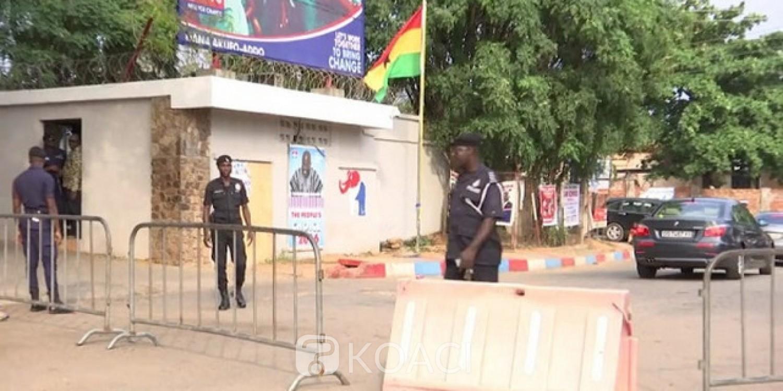 Ghana : Clôture d'Akufo-Addo heurtée par un véhicule, condamnation au choix pour le conducteur