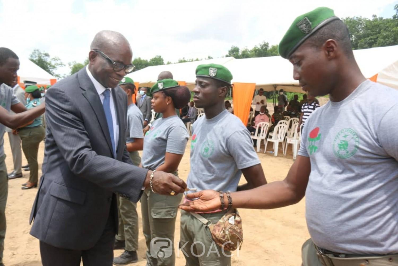 Côte d'Ivoire :  Opération immobilière des agents du ministère des Eaux et forêts, les premiers souscripteurs ont reçu les clés de leur villa