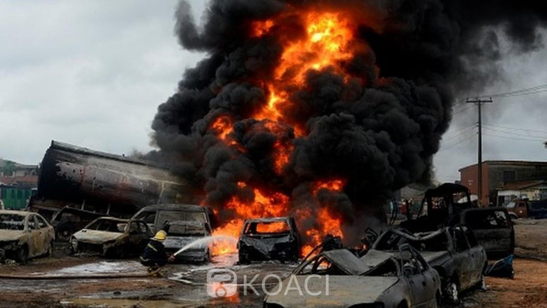 Nigéria : Explosion d'un camion-citerne petrolier, plus de 64 blessés dans le nord