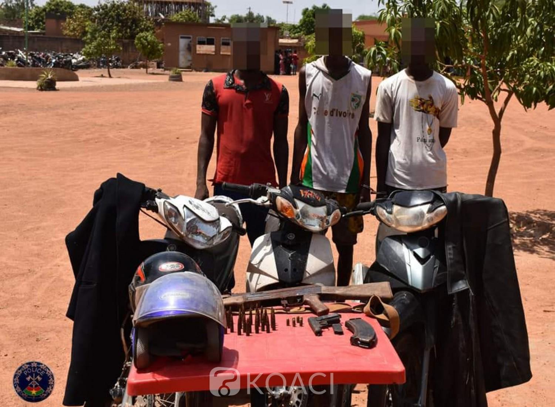 Burkina Faso : Trois braqueurs interpellés par la police