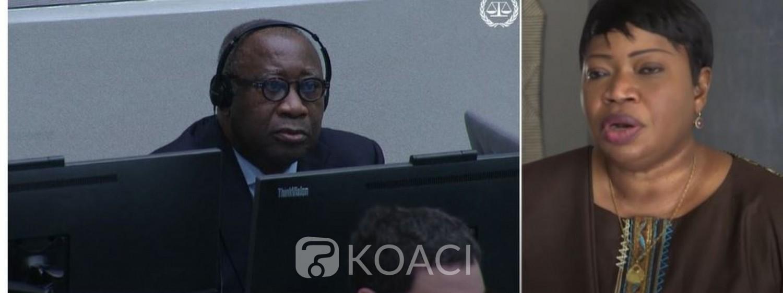 Côte d'Ivoire : En fin de mandat, Fatou Bensouda « frustrée » révèle que son bureau est entrain d'enquêter dans l'autre camp