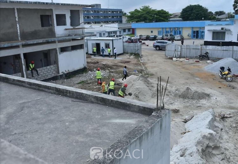 Côte d'Ivoire : CHU de Treichville, les travaux de la réhabilitation du bloc Gynécos obstétrique ont démarré
