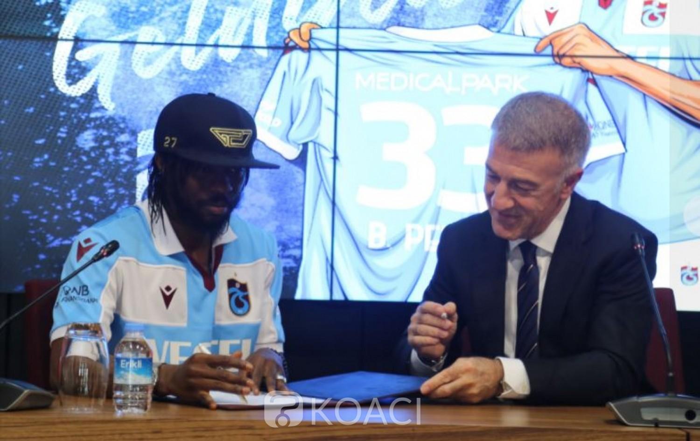 Côte d'Ivoire : Parme relégué en Série B, Gervais atterrit en Turquie et signe deux ans à Trabzonspor