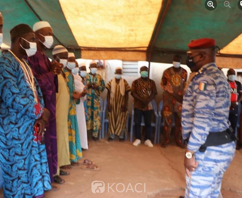 Côte d'Ivoire : Bavure des gendarmes à Gonaté, le Géneral Apalo demande pardon à la famille et fait savoir  qu'ils seront radiés des effectifs du corps