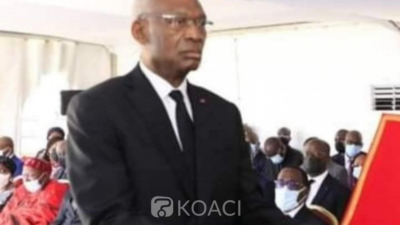 Côte d'Ivoire : Le président du Conseil constitutionnel pris à son tour dans l'infox de la mort, il reçoit ce jour le Ministre KKB