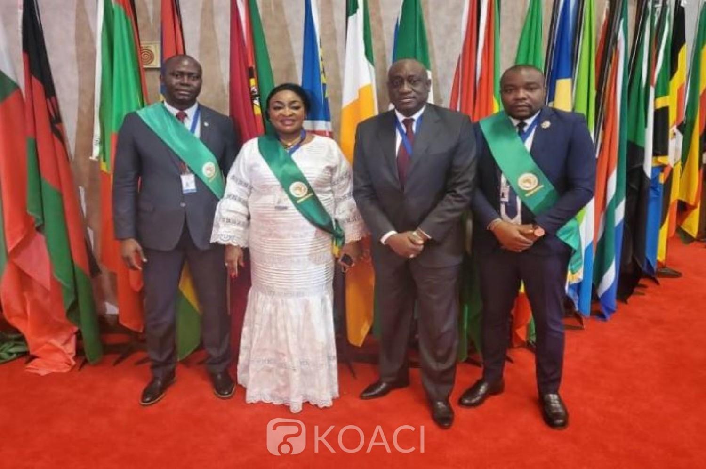 Côte d'Ivoire : Trois  députés ivoiriens font leur entrée officielle du Parlement panafricain (PAP) à Midrand (Afsud)
