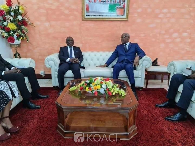 Côte d'Ivoire : Recevant le ministre KKB, le président du Conseil constitutionnel «Je vous souhaite la bienvenue en Galilée, la Patrie du ressuscité »