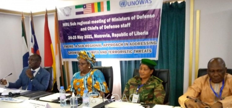 Liberia :  Union du Fleuve Mano, la Côte d'Ivoire et trois autres pays en avant-garde sécuritaire