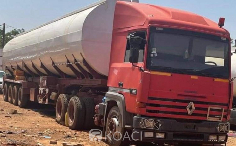 Burkina Faso : Saisie d'un camion citerne de 67.000 litres pour fraude  d'hydrocarbures