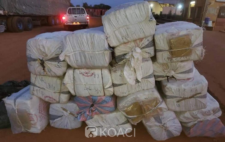 Burkina Faso : Près d'une tonne de drogue saisie par la douane