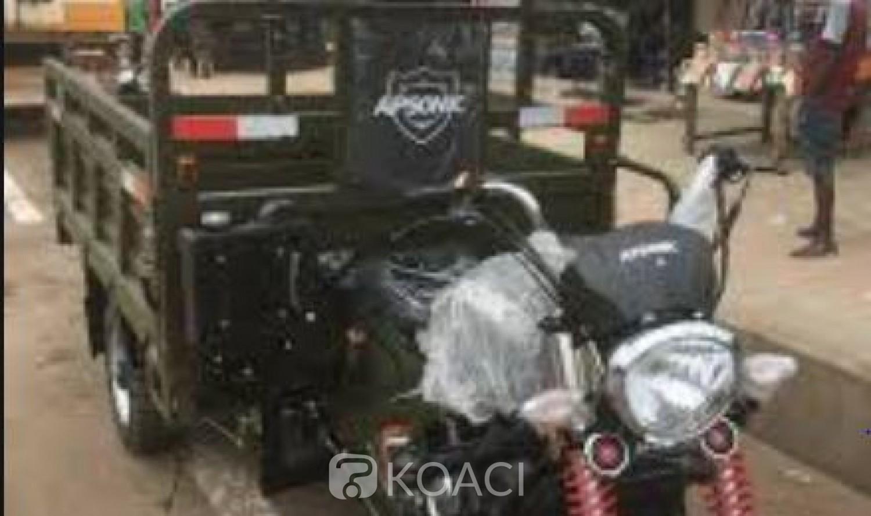 Côte d'Ivoire : 18 permis retirés aux chauffeurs indélicats, Motos-taxis et  tricycles des hors la loi ?