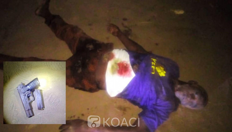 Côte d'Ivoire : Opération épervier à Abobo, un bandit abattu par la police dans des échanges de tirs