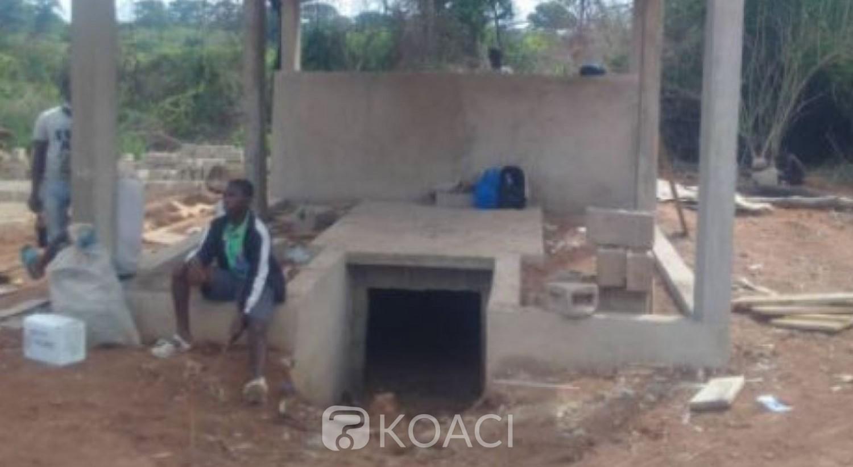 Côte d'Ivoire : A quelques jours de son inhumation, la tombe d'Irié Lou Collette loin d'être achevée