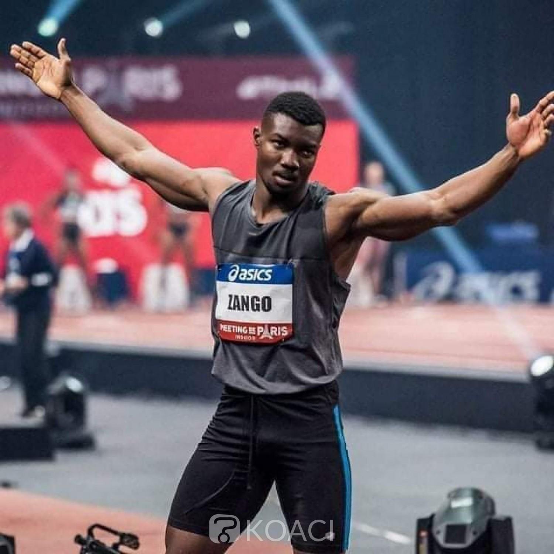 Burkina Faso : Athlétisme, nouvelle victoire au triple saut de Hugues Fabrice Zango meeting de Montreuil