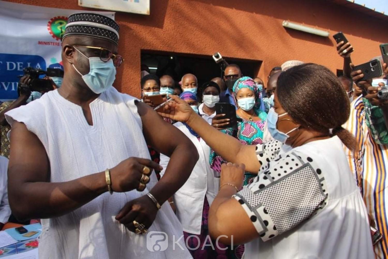 Burkina Faso : Début de la campagne de vaccination contre le Covid-19
