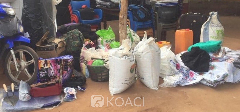 Togo :  Cinq présumés voleurs sur des camions en transit aux arrêts