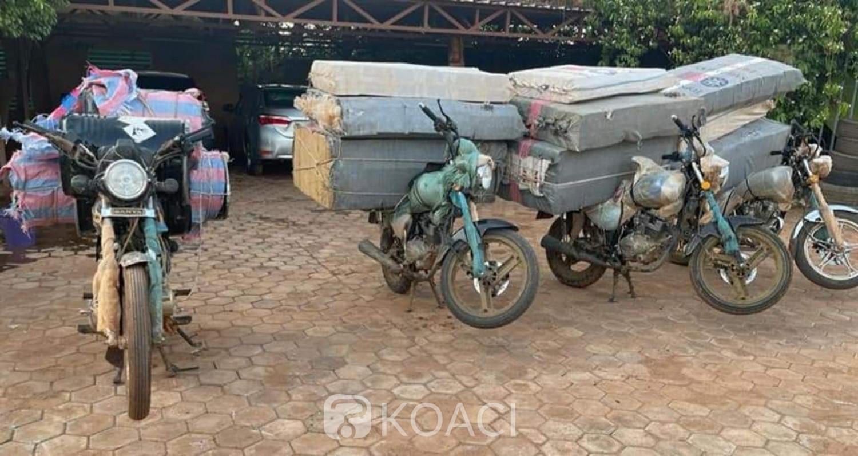 Burkina Faso : Du cyanure et des cigarettes de contrebande saisie par la douane à Ouagadougou