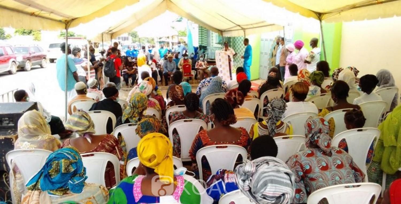 Côte d'Ivoire : Bouaké, des personnes vulnérables bénéficient de dépistages gratuits de diverses maladies