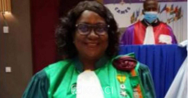 Côte d'Ivoire : Reconnaissance du mérite au CAMES, la présidente de l'université de Daloa, le Prof. Abiba Tidou Sanogo distinguée