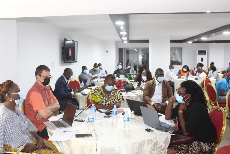 Côte d'Ivoire : Dialogue communautaire C19RM du Fonds mondial, les acteurs communautaires en conclave