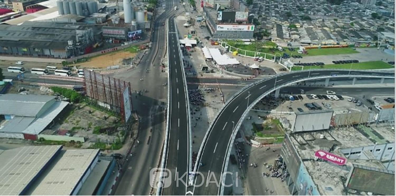 Côte d'Ivoire : Marcory-Treichville, travaux de la phase 2 de l'échangeur, des voies seront rétrécies et d'autres fermées à la circulation