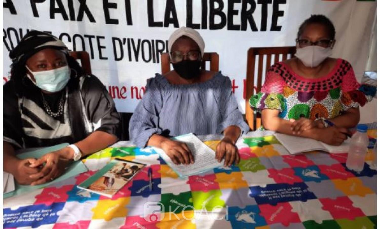 Côte d'Ivoire : La présidente de la  Ligue internationale des femmes : « L'insécurité inquiète de plus en plus les habitants de toutes nos contrées »
