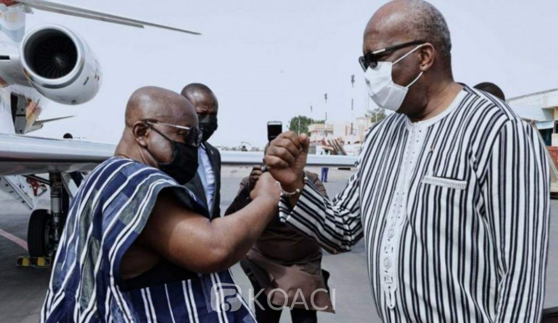 Burkina Faso-Ghana : A Ouagadougou, Akufo Addo pour une lutte commune contre le terrorisme