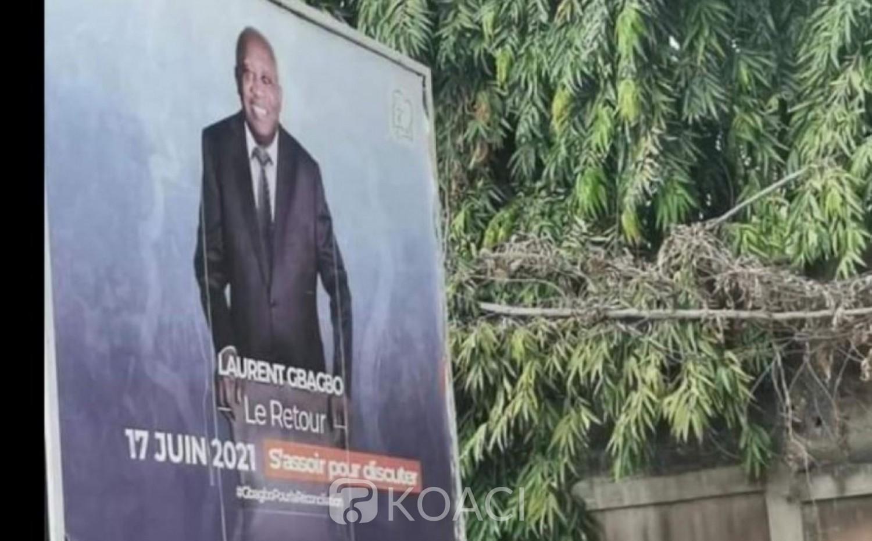 Côte d'Ivoire : Le CSP fait arracher les affiches de Gbagbo, réaction de son avocate Habiba Touré