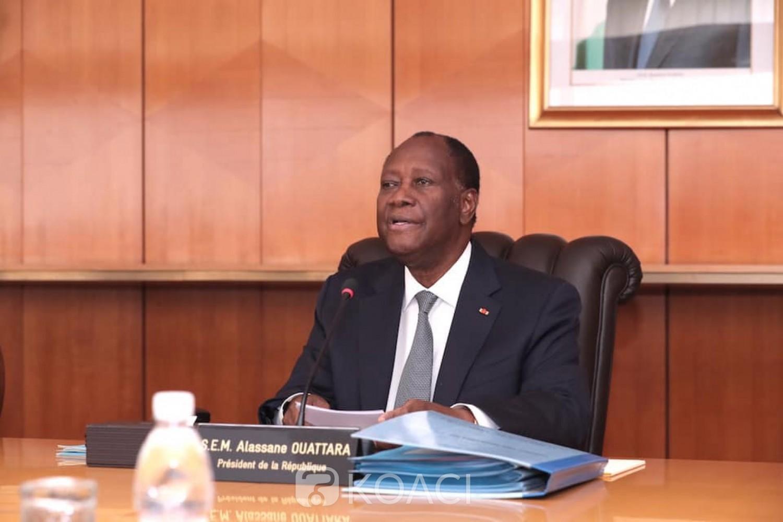 Côte d'Ivoire :  Ouattara crée 12 districts autonomes qui englobent dans leurs ressorts territoriaux au moins 2 régions