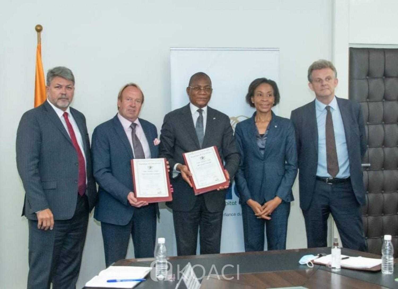 Côte d'Ivoire : Construction des logements sociaux, signature d'un protocole d'accord entre Bruno Koné avec des hommes d'affaires britanniques portant sur plusieurs logements