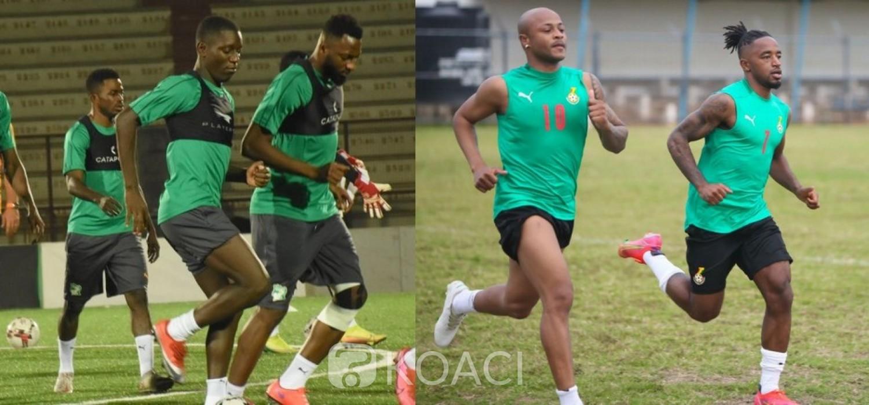 Ghana-Côte d'Ivoire :  Match amical, duel entre Black Stars et Eléphants ce samedi à Cape Coast