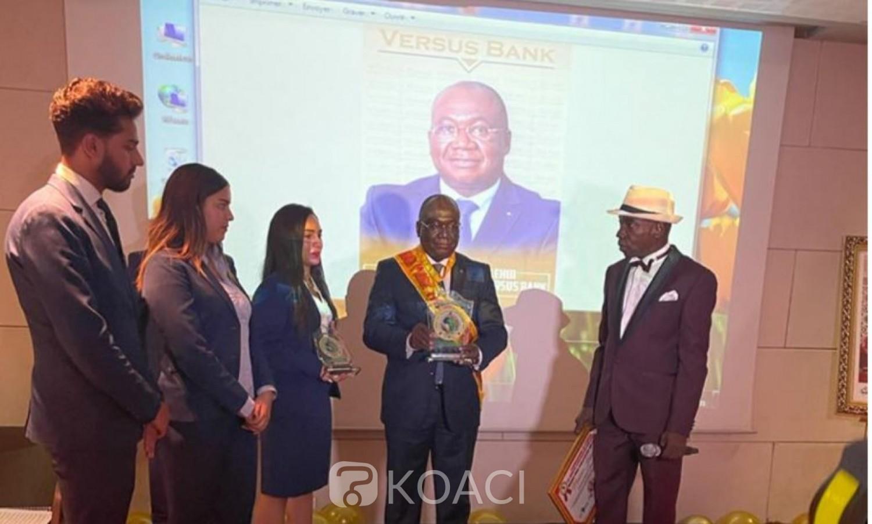 Côte d'Ivoire : Jerome Ehui, DG de Versus Bank, récompensé pour ses résultats au Grand Prix International Padel