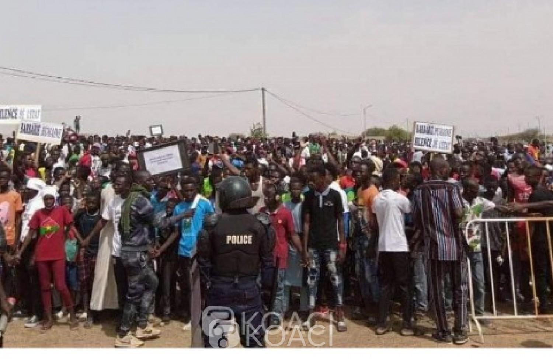 Burkina Faso : Marche de protestation à Dori contre la tuerie de Solhan