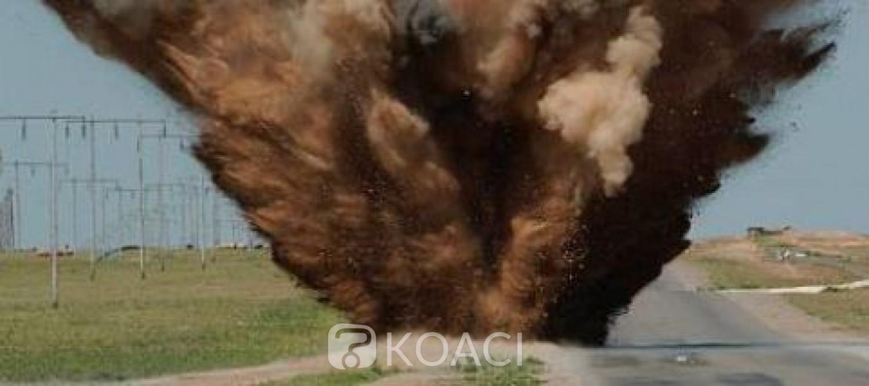 Côte d'Ivoire : Explosion d'un engin explosif improvisé au passage d'une patrouille à Tehini