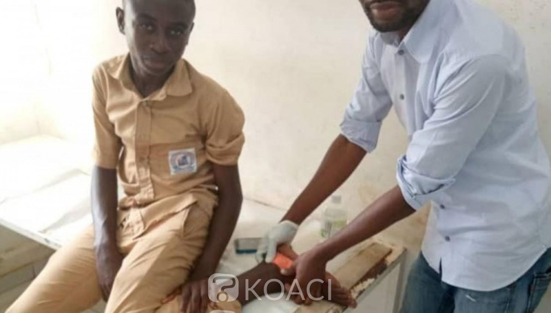 Côte d'Ivoire : Bouaké, en plein centre d'examen, un candidat mordu par un serpent