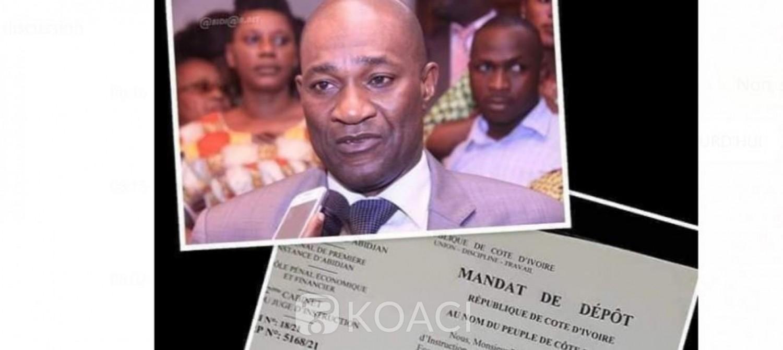 Côte d'Ivoire : Escroquerie d'un milliard de Fcfa, le DG de l'AGEF placé sous mandat de dépôt sur ordre d'Alassane Ouattara