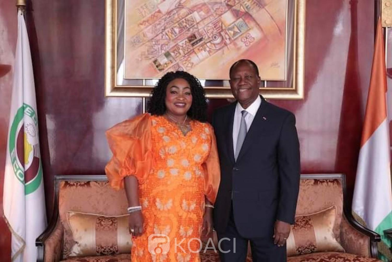 Côte d'Ivoire : Après son audience avec le chef de l'Etat Alassane Ouattara, la députée Mariam Traoré prête à aller saluer Gbagbo à son retour