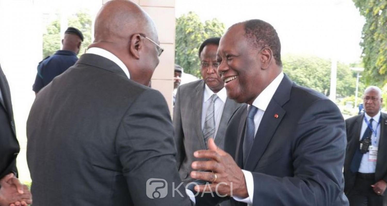 Côte d'Ivoire :   Alassane Ouattara à Accra samedi pour un sommet ordinaire de la CEDEAO, le prochain conseil des ministres prévu pour le 7 juillet 2021