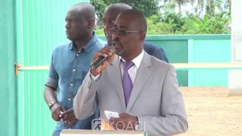 Côte d'Ivoire :   Jacqueville, le maire Beugré annonce que le candidat indépendant vainqueur des législatives du 12 juin a rejoint le RHDP