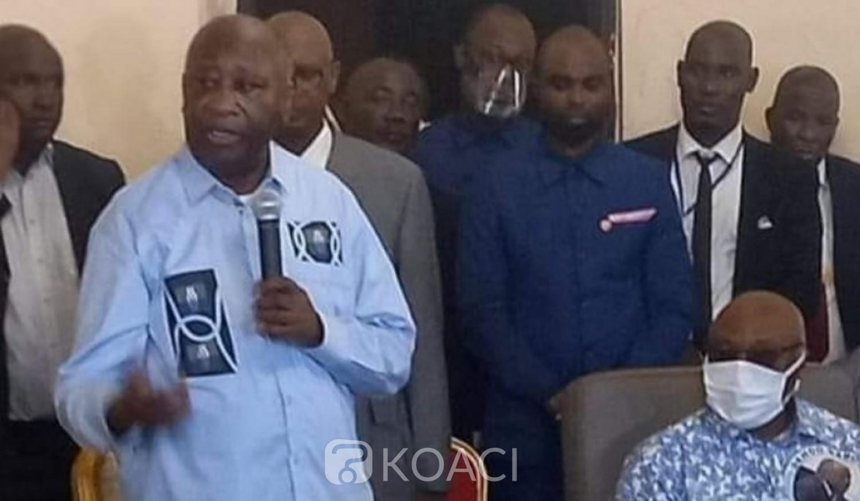 Côte d'Ivoire : Gbagbo heureux, de retrouver son Pays, rend hommage à sa mère, Sangaré et demande quelques jours pour pleurer ses morts