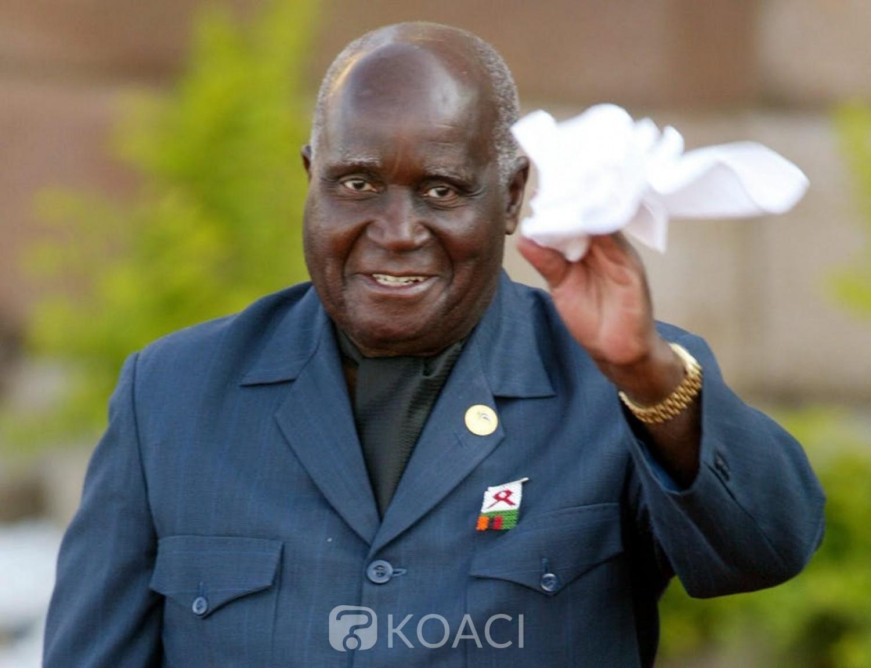 Zambie : Mort à 97 ans de Kenneth Kaunda, père de l'indépendance , l'Afrique du Sud décrète 10 jours de deuil