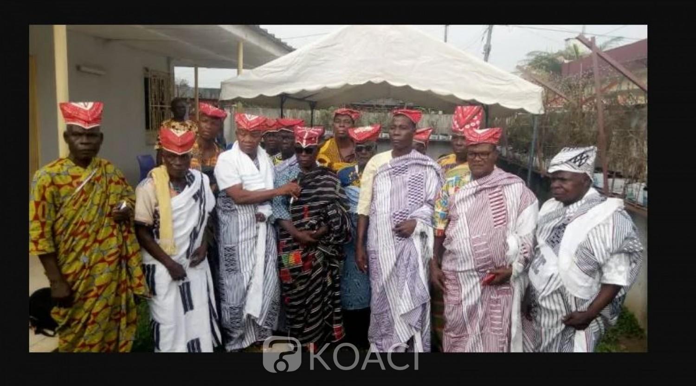 Côte d'Ivoire : Investiture de Koné Adama en qualité de leader des cadres de la région de la Marahoué, des chefs traditionnels crient à la forfaiture
